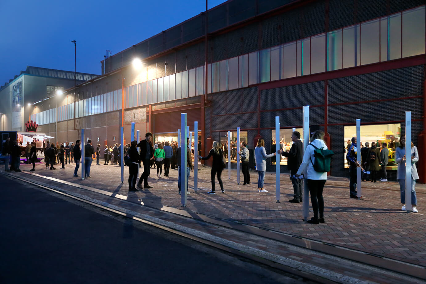 Future Flux Festival, photo by Aad Hoogendoorn